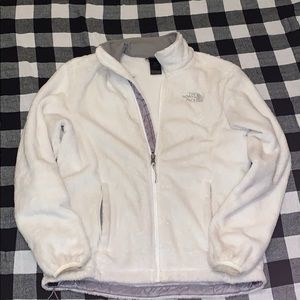 White barely worn The North Face women's jacket
